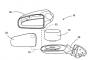 整合更精簡 Ford 新專利雷達整合後照鏡